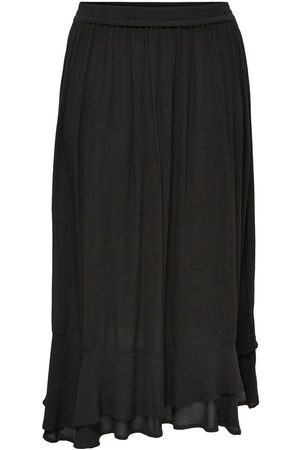 Only Midi Skirt Women Black