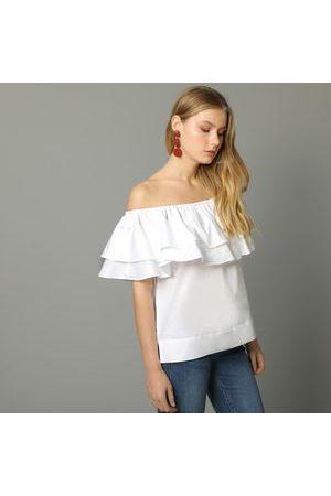 ba75cb916e34 Comprar Blusas Y Túnicas de mujer color blanco ¡Compara 5.382 ...