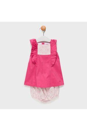 Trasluz Conjunto Vestido + Cubrepañal Bebé