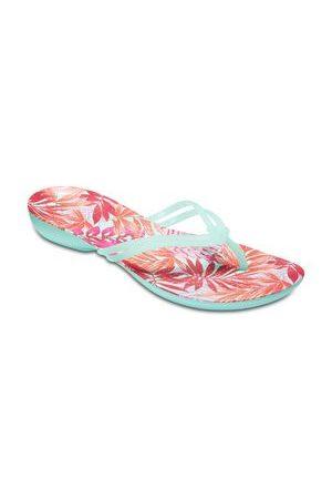 Crocs Flip Flop Isabella Graphic Flip W Nudo Decorativo Menta