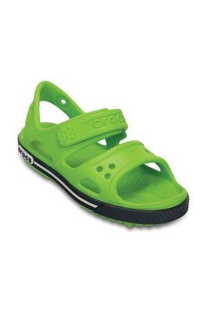 Crocs Sandalia Crocband Ii Fosforescente Y Marino