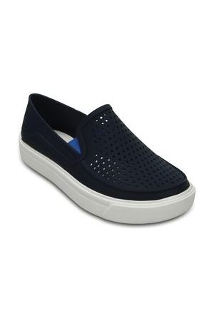Crocs Slip-On Swiftwater Easy-On Shoe K Cierre Elástico Marino
