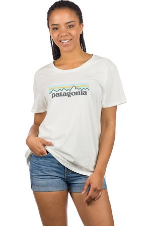Patagonia Pastel P-6 Logo Organic Crew T-Shirt