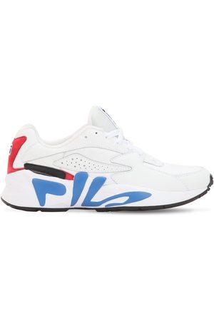 Fila | Hombre Sneakers De Piel Sintética /rojo/azul 10.5