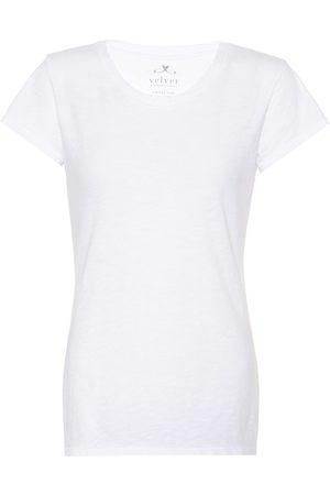 Velvet Camiseta de algodón Odelia