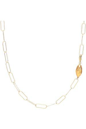 Alighieri Collar L'Incognito con baño en oro de 24 ct