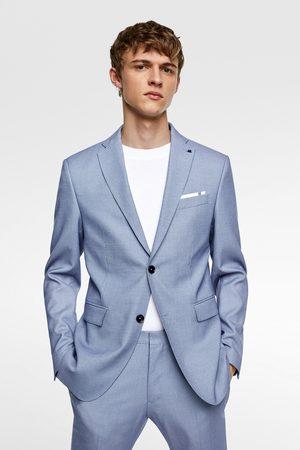 traje de chaqueta de hombre en zara entallado