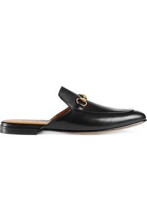 Gucci Zapatos slippers de cuero Horsebit