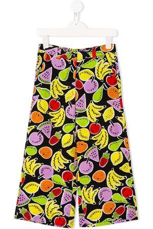 Stella McCartney Pantalones anchos con estampado Fruits