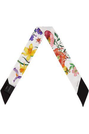 Gucci Pañuelo para el cuello con estampado Flora