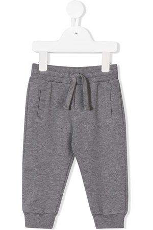 Dolce & Gabbana Pantalones deportivos con placa con logo