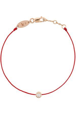 Redline Pulsera de oro rosa de 18 kt y diamantes
