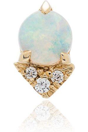 Lizzie Mandler Pendiente con ópalo y diamante
