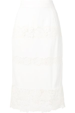 Dolce & Gabbana Falda con ribete de encaje