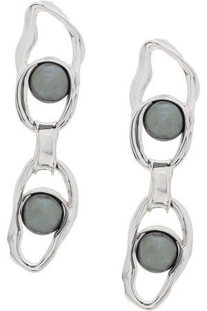 Coup De Coeur Mujer Pendientes - Pendientes de cadena Liquid Pearl