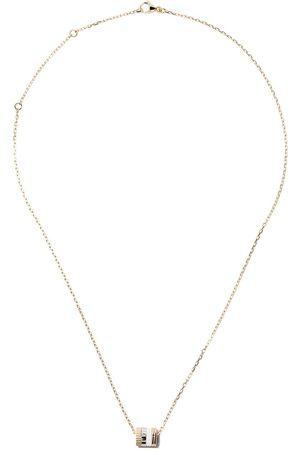 Boucheron Mujer Collares - Collar Quatre Mini Ring con colgante en oro rosa, oro blanco y oro 18kt
