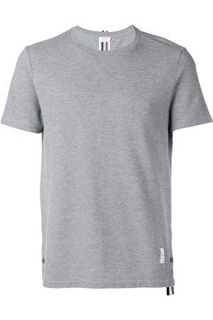 Thom Browne Camiseta de manga corta holgada con raya en la espalda