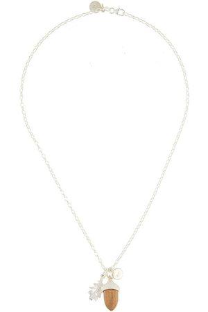 Karen Walker Mujer Collares - Collar con colgante de bellota