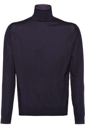 Prada Jersey de lana con cuello alto