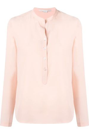 Stella McCartney Blusa con cuello mao