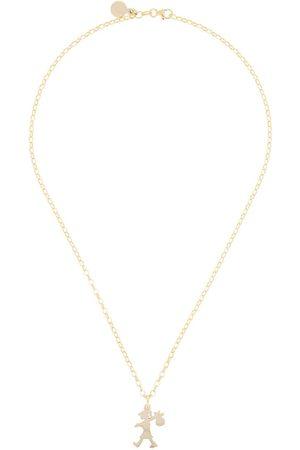 Karen Walker Collar Runaway Girl en oro de 9kt