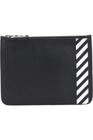 OFF-WHITE Monedero de rayas diagonales