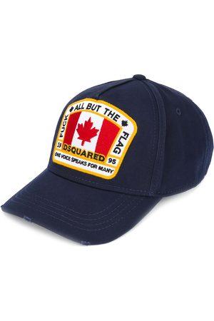 Dsquared2 Hombre Gorras - Gorra de béisbol con parche de Canadá