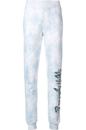 Philipp Plein Pantalones de chándal con aplique Beverly Hills