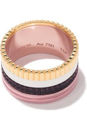 Boucheron Anillo Quatre Classique grande en oro rosa, oro blanco y oro 18kt