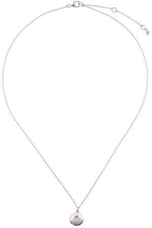 ASTLEY CLARKE Colgante de medallón con detalle de zafiro