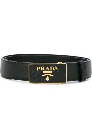 Prada Cinturón con hebilla con logo