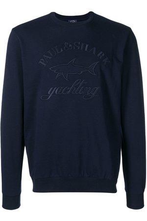 Paul & Shark Hombre Sudaderas - Sudadera con logo bordado