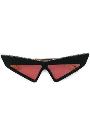 Gucci Gafas de sol futuristas con apliques
