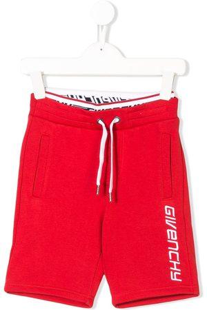 Givenchy Pantalones cortos de deporte con logo bordado