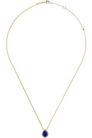 Boucheron Mujer Collares - Collar Serpent Bohème con colgante estilo lágrima con lapislázui en oro 18kt