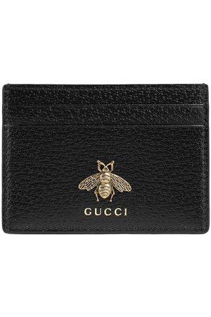 Gucci Funda para tarjetas de piel Animalier