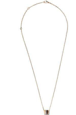 Boucheron Collar Quatre Mini Ring en oro blanco, oro rosa y oro 18kt