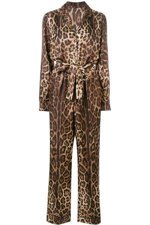 Dolce & Gabbana Mono con estampado de leopardo