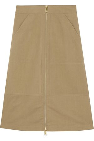 Burberry Falda de talle alto