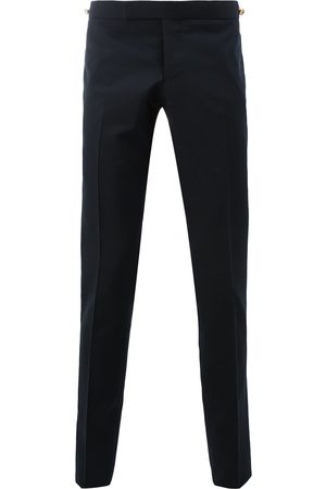Thom Browne Pantalones pitillo de talle bajo