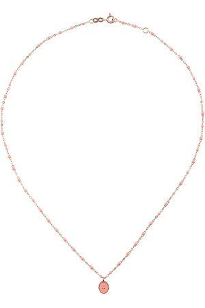 GIGI CLOZEAU Collar RG con diamante en oro rosa de 18kt