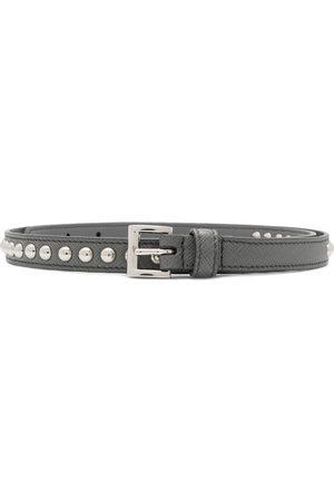 Prada Cinturón con apliques