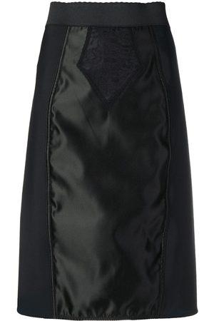 Dolce & Gabbana Falda a paneles