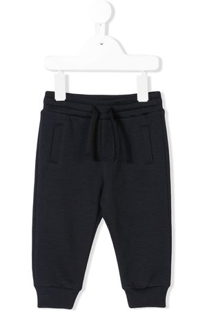 Dolce & Gabbana Pantalones joggers con bajos fruncidos