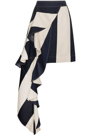 Calvin Klein Minifalda drapeada asimétrica