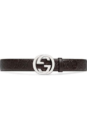 Gucci Cinturón con hebilla GG Supreme