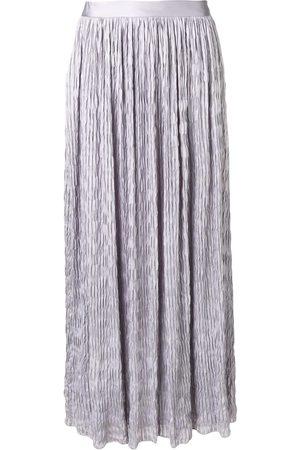 Armani Falda larga con diseño arrugado
