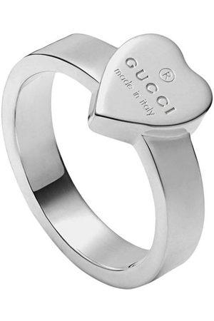 Gucci Anillo Heart con marca