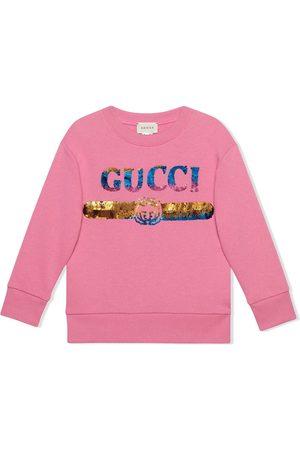 Gucci Sudadera con logo Gucci de lentejuelas