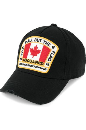 Dsquared2 Gorra de béisbol con parche de bandera canadiense